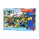 Puzzle 120 elements: Dinosaur Volcanos