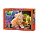 Rompecabezas de 500 piezas de jengibre gatito