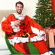 Kényelmes-szőnyeg Karácsony - Mikulás