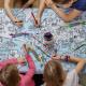 EatSleepDoodle World Map Tablecloth - To enter