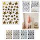 stars wall sticker, 4- times assorted