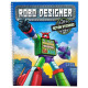 Robo Designer book with action stickers