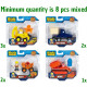 Bob the Builder Die-Cast vehicles 4 assorted 11x12