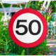 50 Years Road Sign Garden Sign
