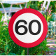 60 Years Road Sign Garden Sign