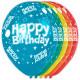 Happy Birthday Birthday Balloons 5 pieces