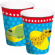 Animal Party Animals Cups - 8 pieces