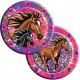 Horses plate - 8 pieces