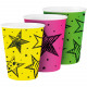 Neon Party Cups 250ml - 6 pieces