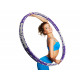 Hula Hoop - 1,1 kg - fitness gumiabroncs fém magga