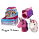 Unicorn finger dolls - in the Display