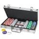 Poker set 300 in aluminum case