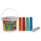 Street chalk - 20 pieces - in VE