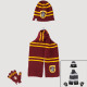 Harry Potter scarf glove hat