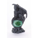 Dragon on egg colorful 4x s., BB, ca.10c