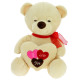 teddy bear hearts 20 cms