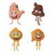 emoji 43 cms ( assorted )