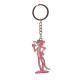 metal pantera rosa llavero 10 cms