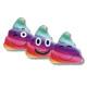 rainbow poop emoticon 45 cms