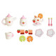 Children' s tea set Wooden accessories for the