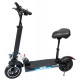 Electric scooter electric scooter foldable saddle