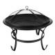 Fire bowl O56cm fireplace terrace garden multifunc