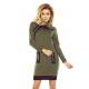 129-7 Justyna jurk met drie sluizen