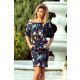 13-91 Sports dress - FLORAL FLOWERS
