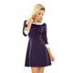 162-2 jurk met een kraag BEBE - BLAUW