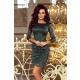 180-3 Lace dress with decorative finishes