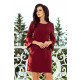 190-8 MARGARET dress with lace on the sleeves