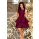 205-2 LAURA double flared dress