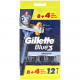 Gillette Blue3 disposable razor 8 + 4 free
