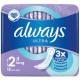Always Ultra-thin bandage Long 12s