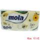 Mola Toilettenpapier 3-lagig 8x150 Blatt Decor