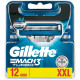 Gillette Mach3 Turbo Blades 12er