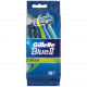 Gillette Blue II Plus Slalom 10er