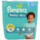 Pampers Baba Dry pelenkák méret 5 Junior (11-23kg)