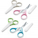 NUK baby nail scissors, colored assorted