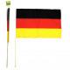 Fan Flag Germany 60x90cm Woodsticks 110cm