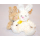 Plush cuddly bunny XL 27x18x12cm, soft fur