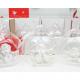 Üveggömb műgyanta angyallal 8,5x7cm im Display