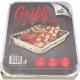 Une fois Grill 500g 27x22x5cm avec du charbon