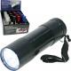 Flashlight 9-LED spotlight 9cm without battery in