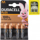 Battery Duracell Plus Alkaline Mignon AA 4er