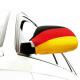 Fan Autókülső tükör zászló Németország Set 2