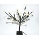 LED fa virágokkal és 25 LED-es, belülről