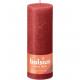 RUSTIK pillér gyertya 190x68 piros