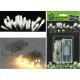 Lichterkette 10 LED warm weiß,batteriebetrieben,ZL