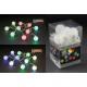 Las luces LED de Navidad de bola, vinilo, cambio d